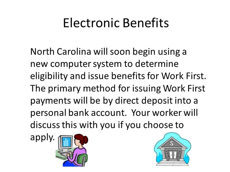 Electronic Benefits