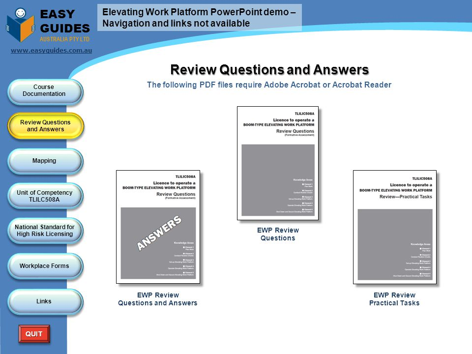 Review Questions and Answers