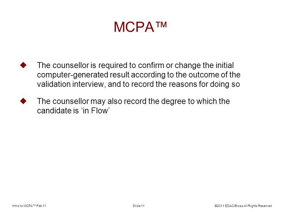 MCPA™