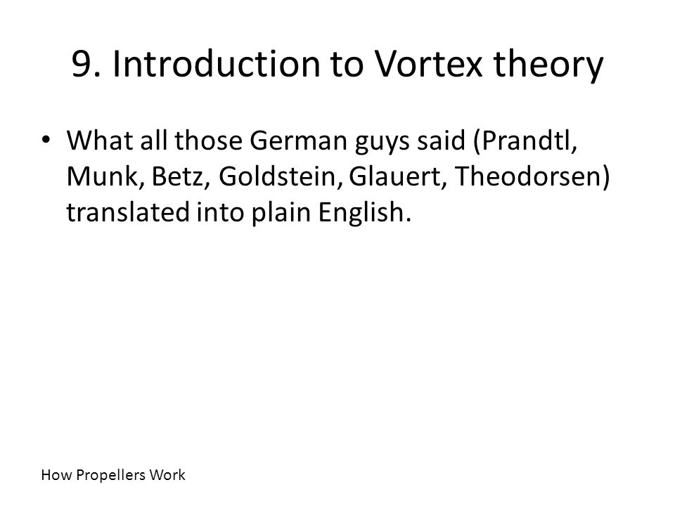 9. Introduction to Vortex theory