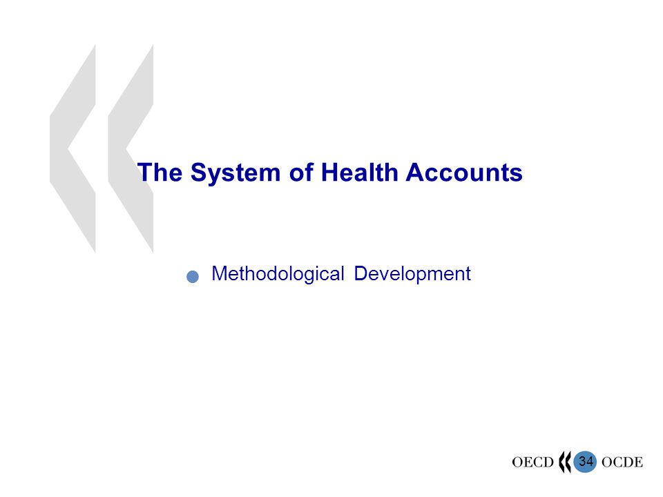 The System of Health Accounts