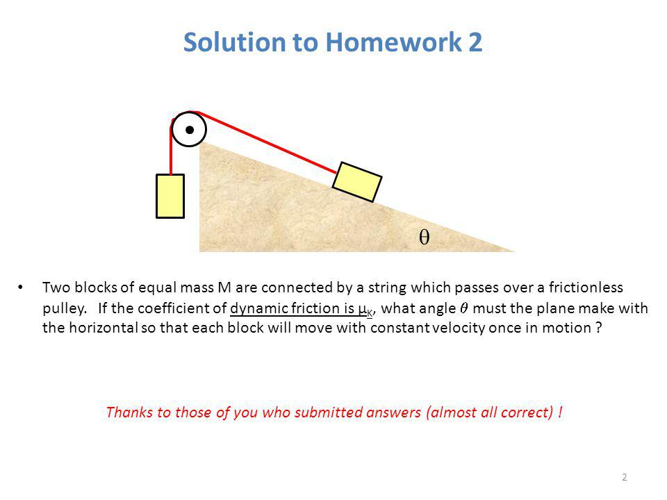 Solution to Homework 2 q.