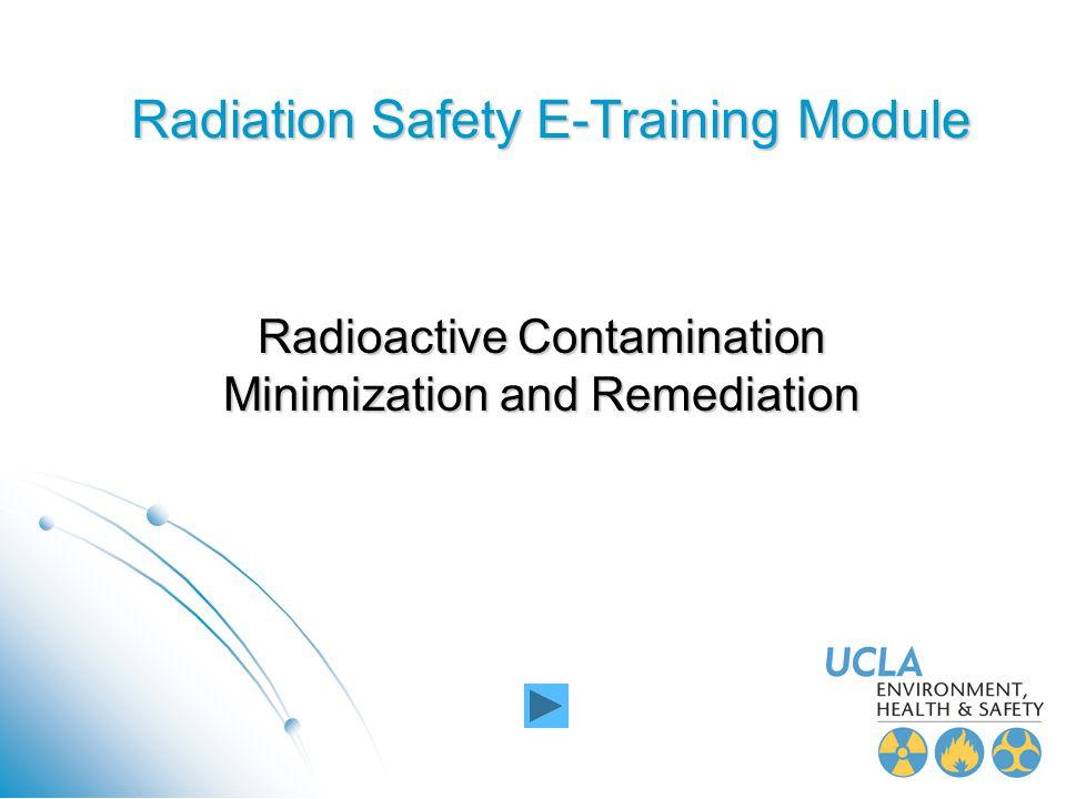 Radiation Safety E-Training Module