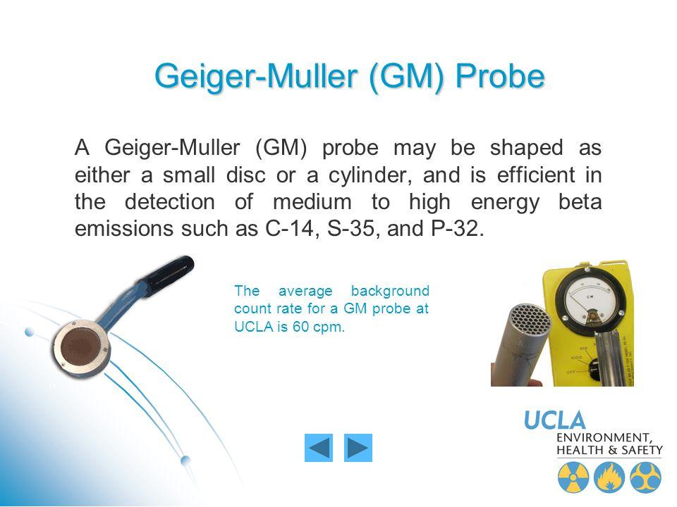 Geiger-Muller (GM) Probe