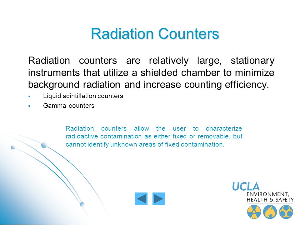 Radiation Counters