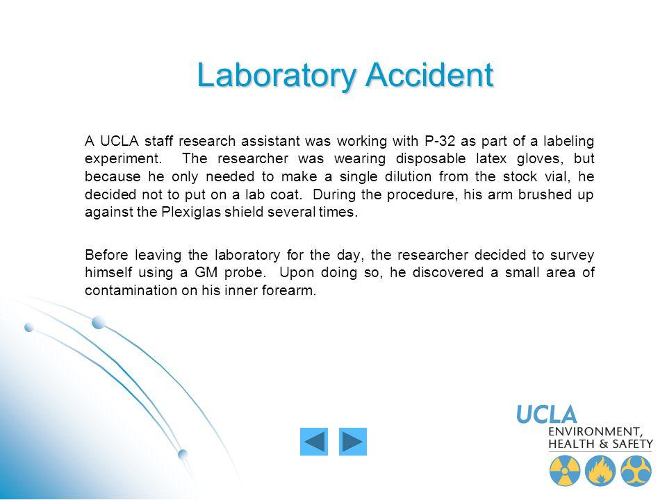 Laboratory Accident