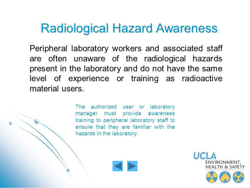 Radiological Hazard Awareness
