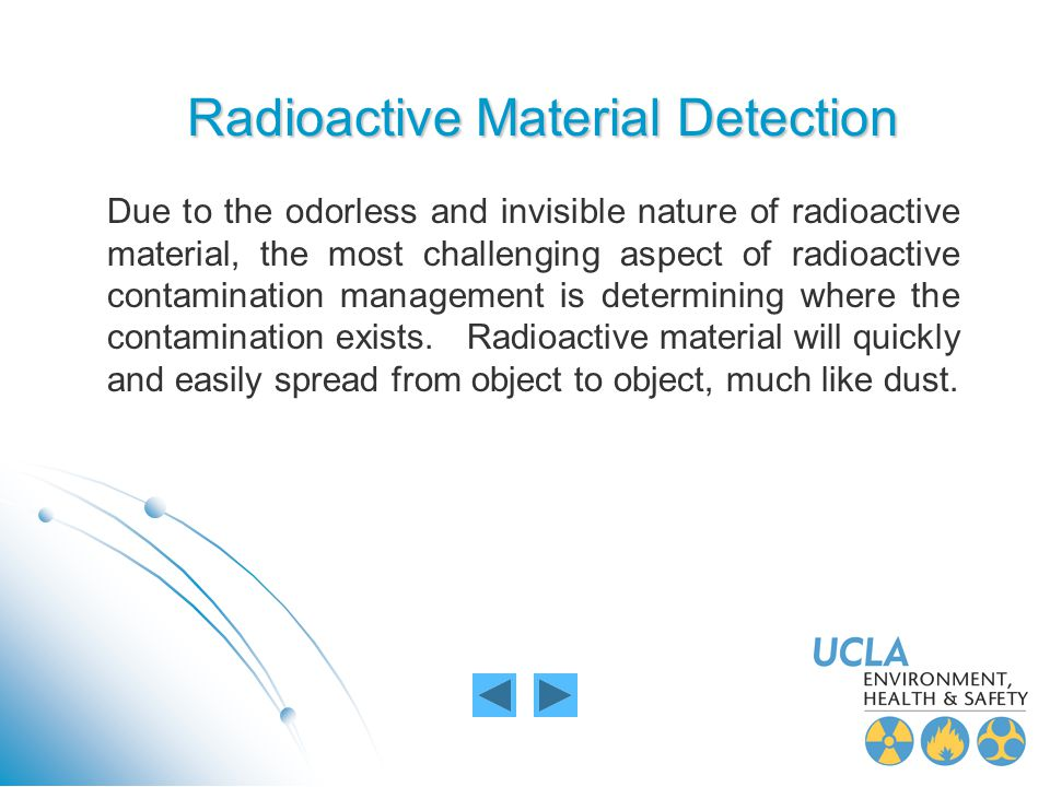 Radioactive Material Detection