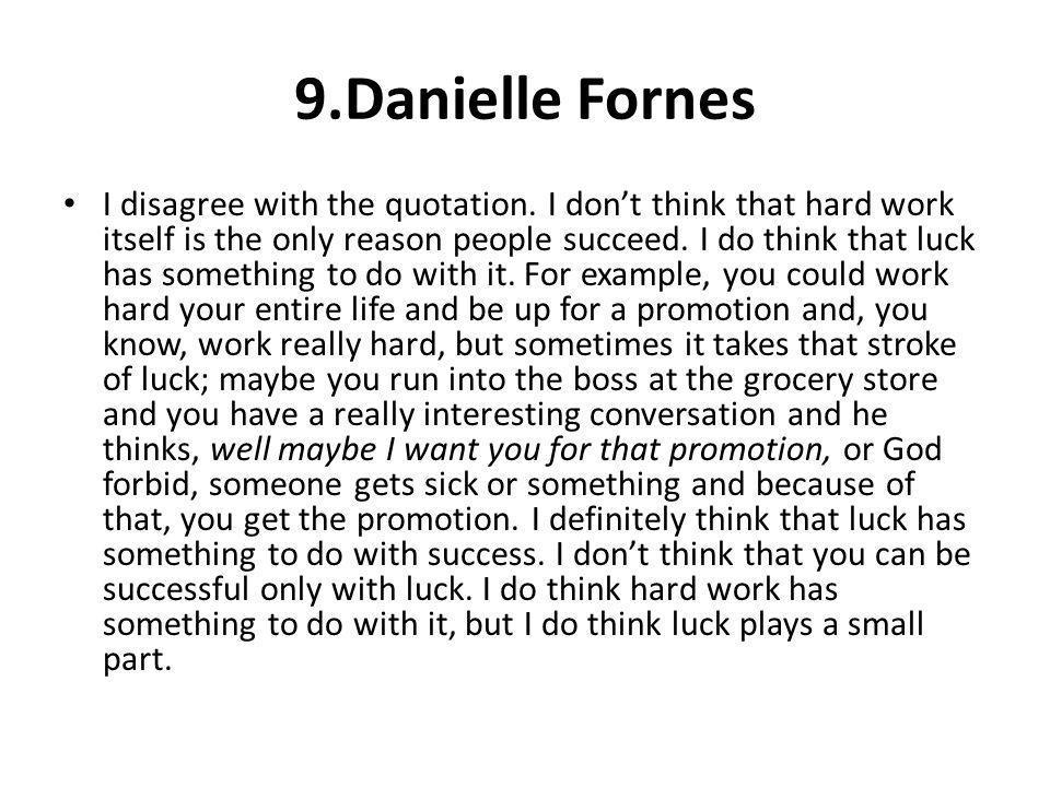 9.Danielle Fornes