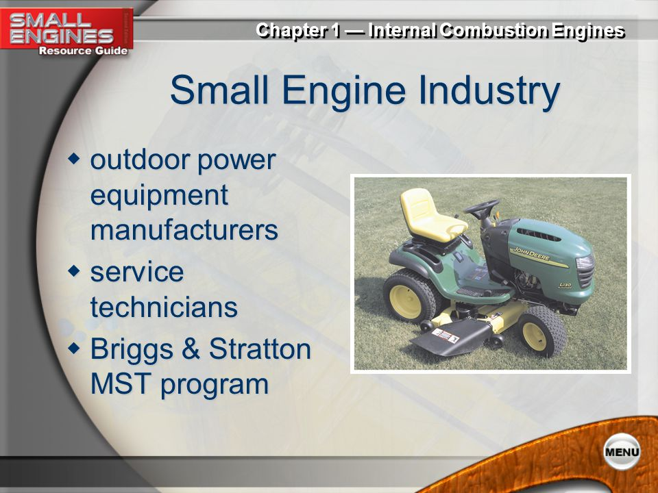 Small Engine Industry outdoor power equipment manufacturers