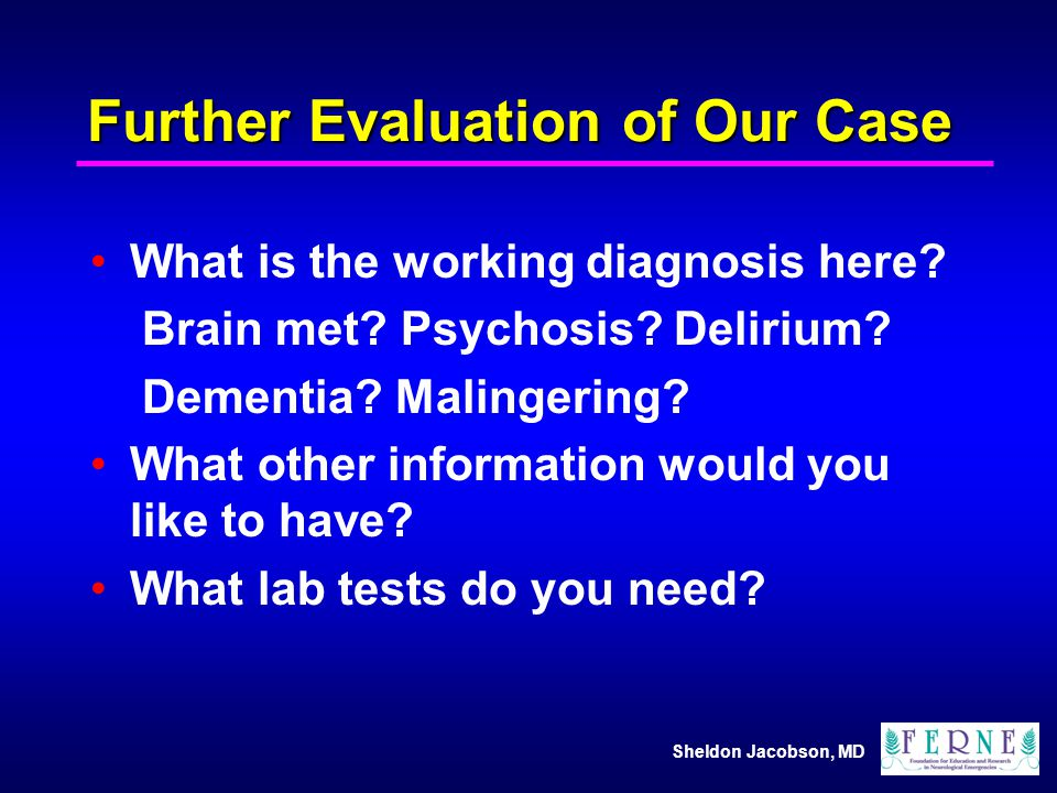 Further Evaluation of Our Case