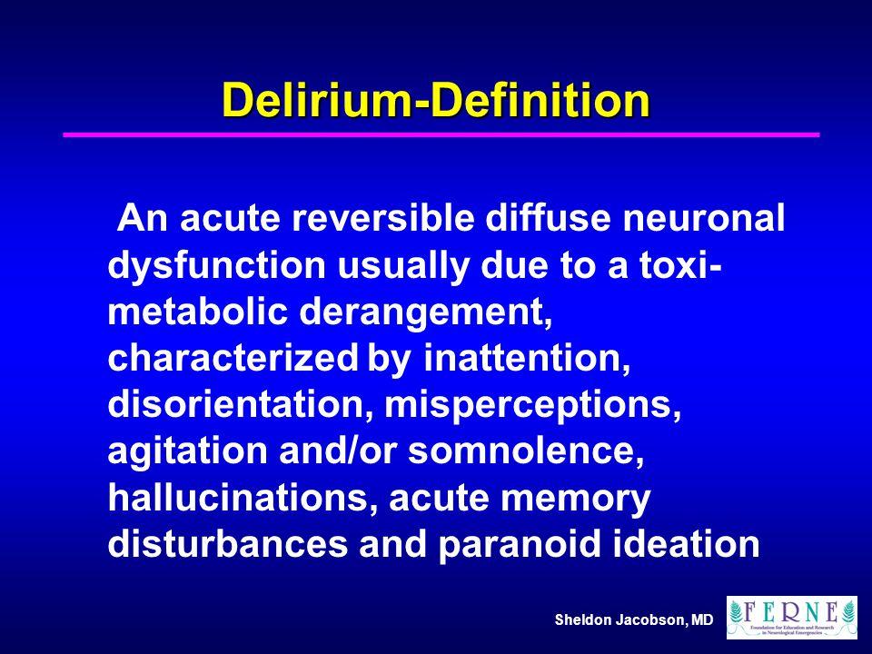 Delirium-Definition