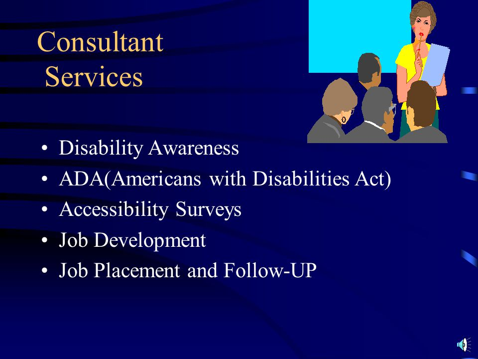 Consultant Services Disability Awareness