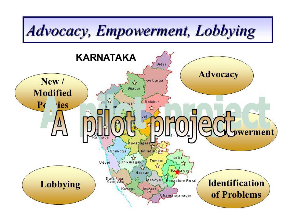 Advocacy, Empowerment, Lobbying