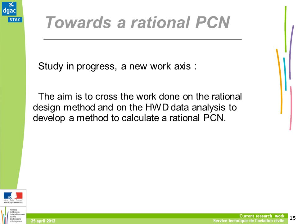 Towards a rational PCN Study in progress, a new work axis :
