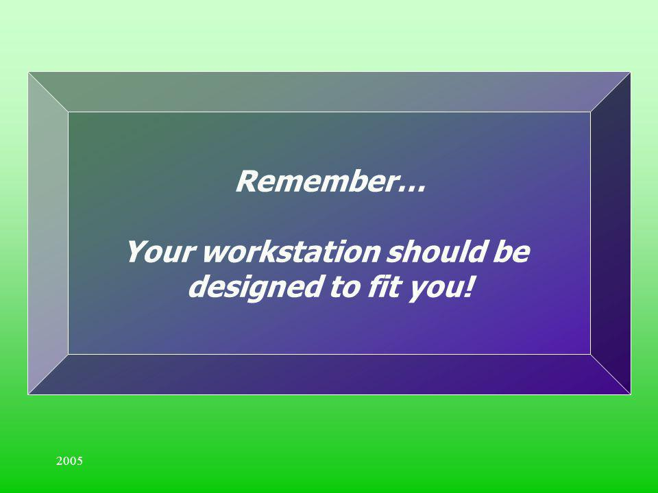 Your workstation should be