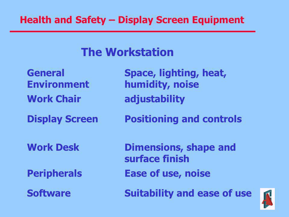 The Workstation General Environment