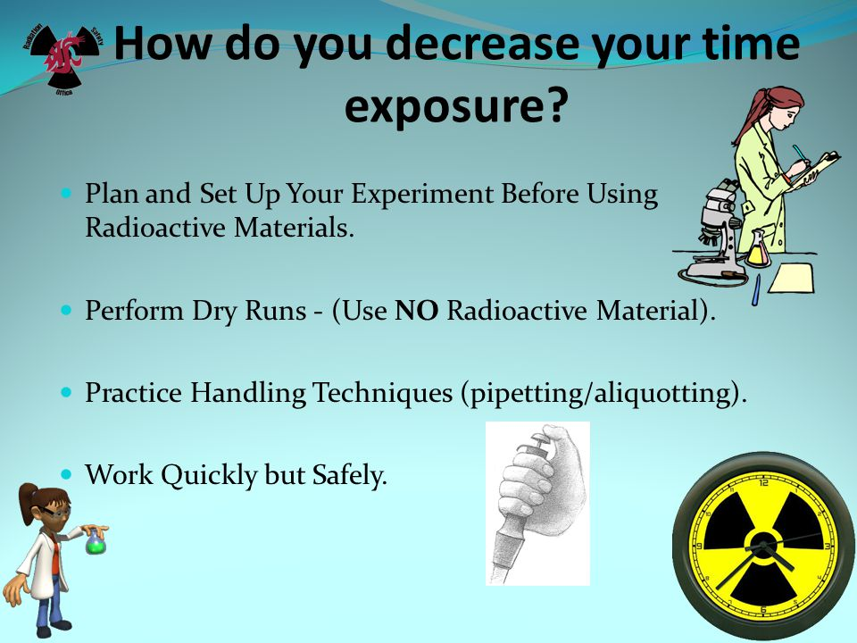 How do you decrease your time exposure