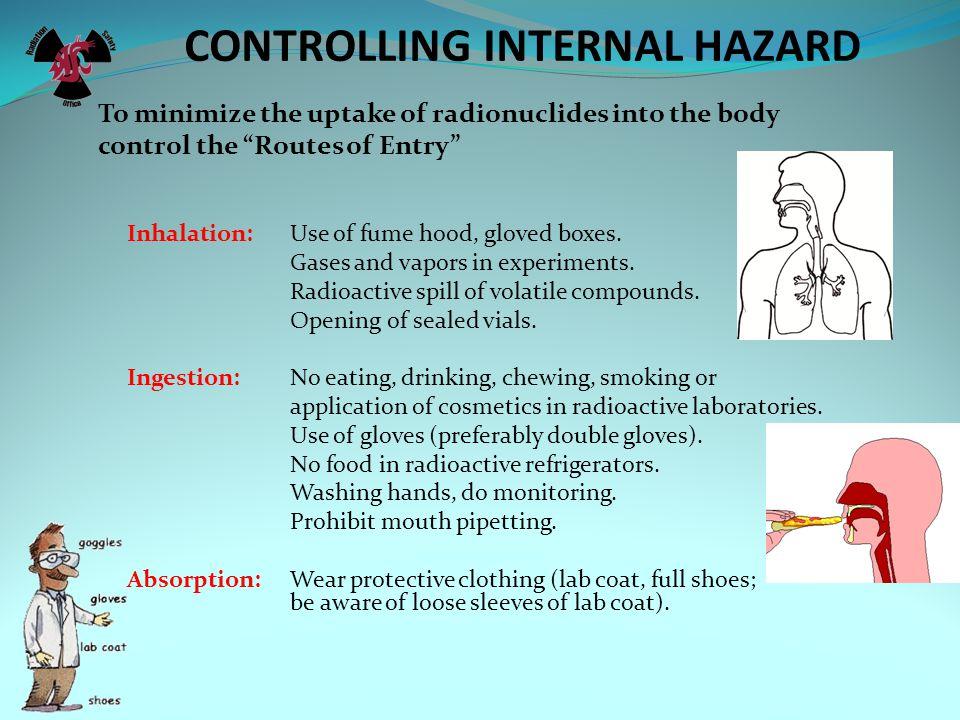 CONTROLLING INTERNAL HAZARD