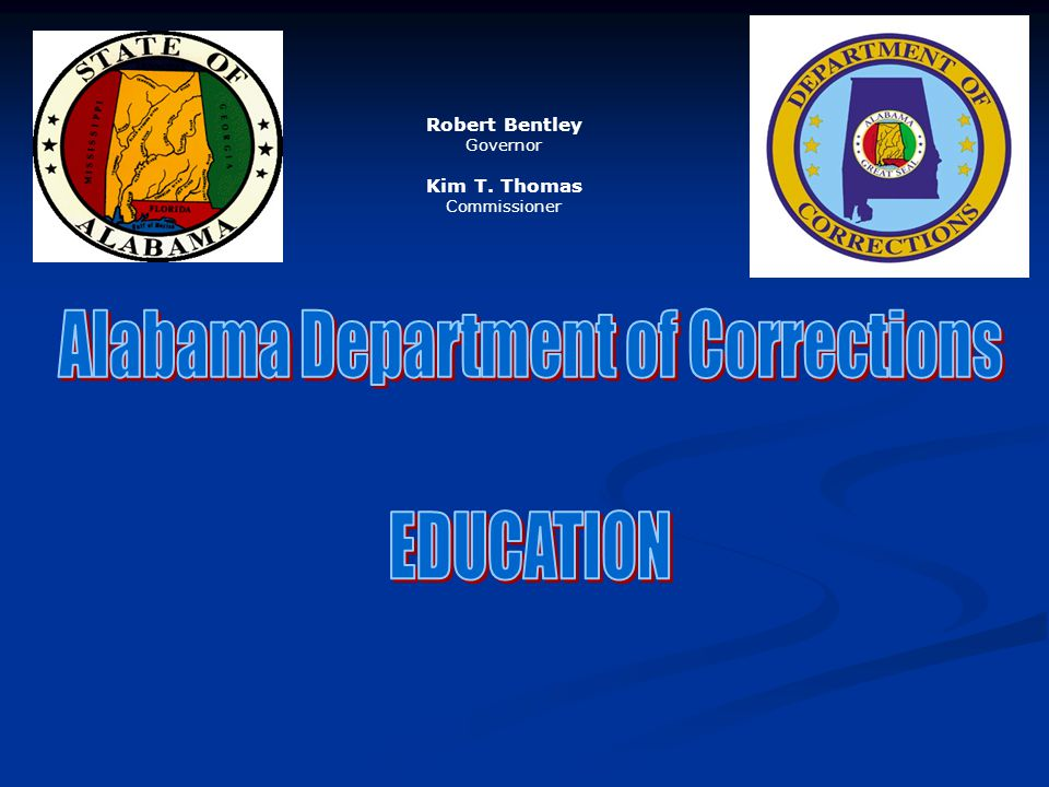 Alabama Department of Corrections EDUCATION
