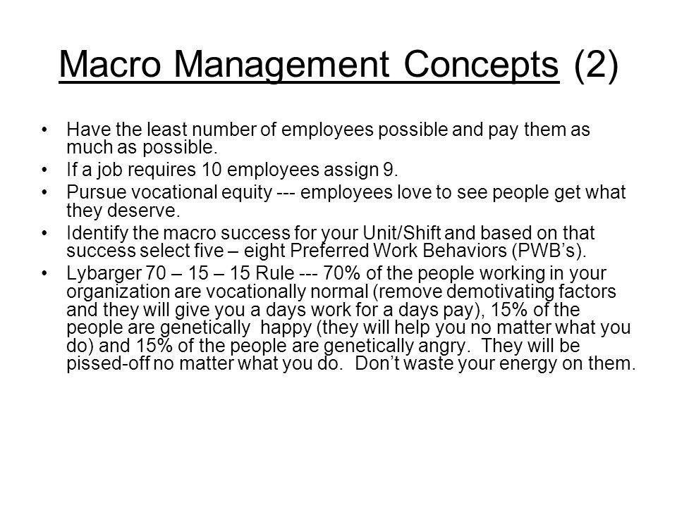 Macro Management Concepts (2)