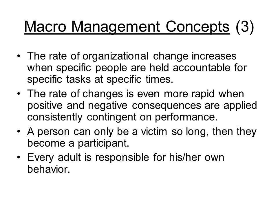 Macro Management Concepts (3)