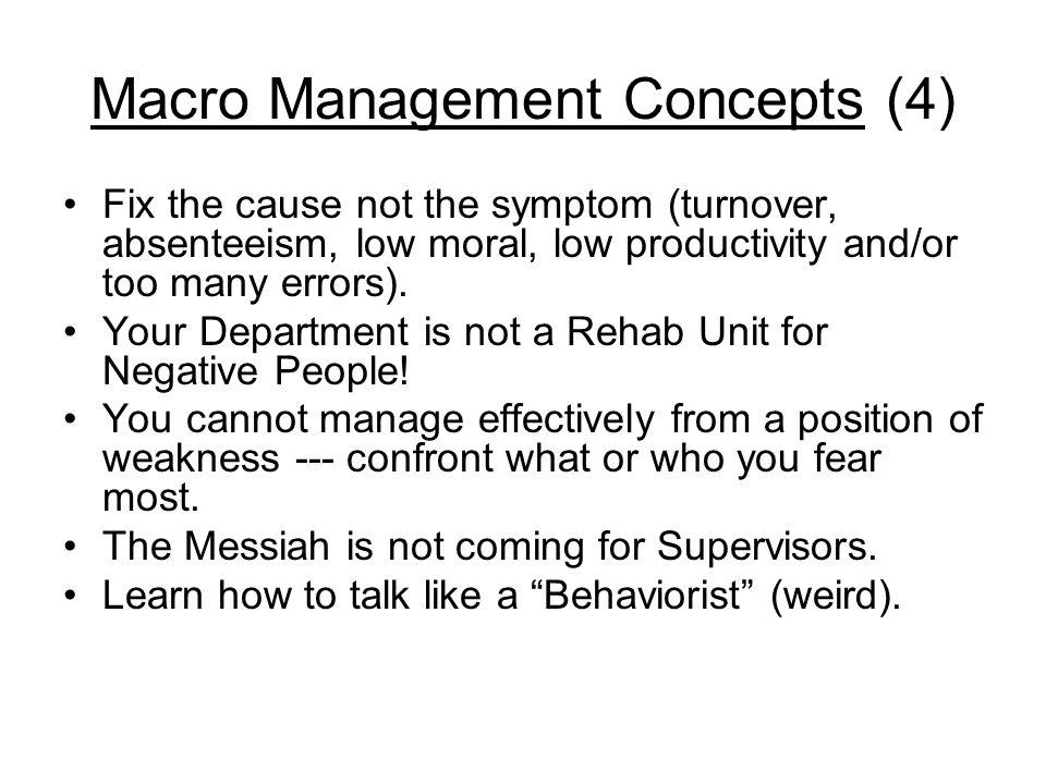 Macro Management Concepts (4)