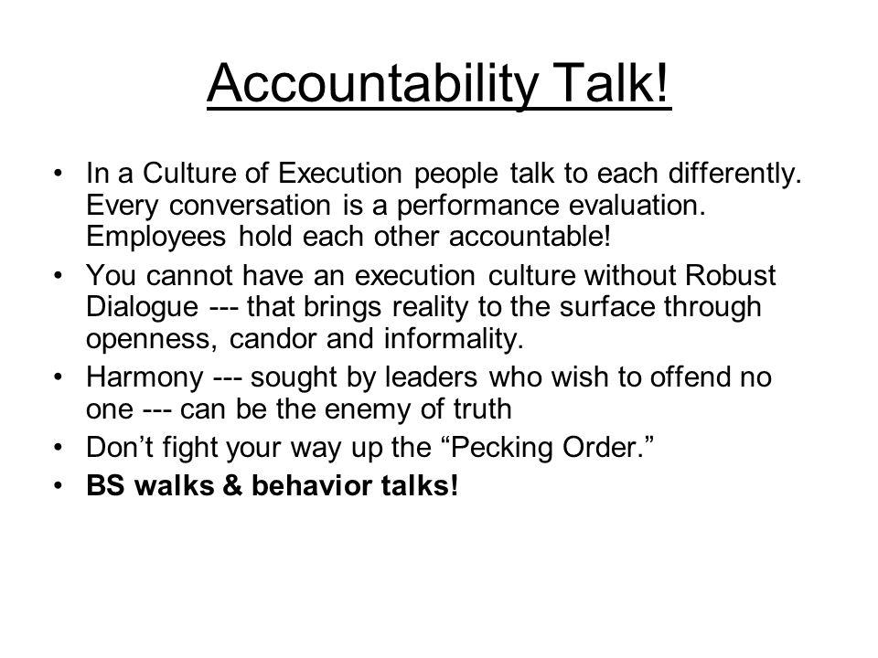 Accountability Talk!