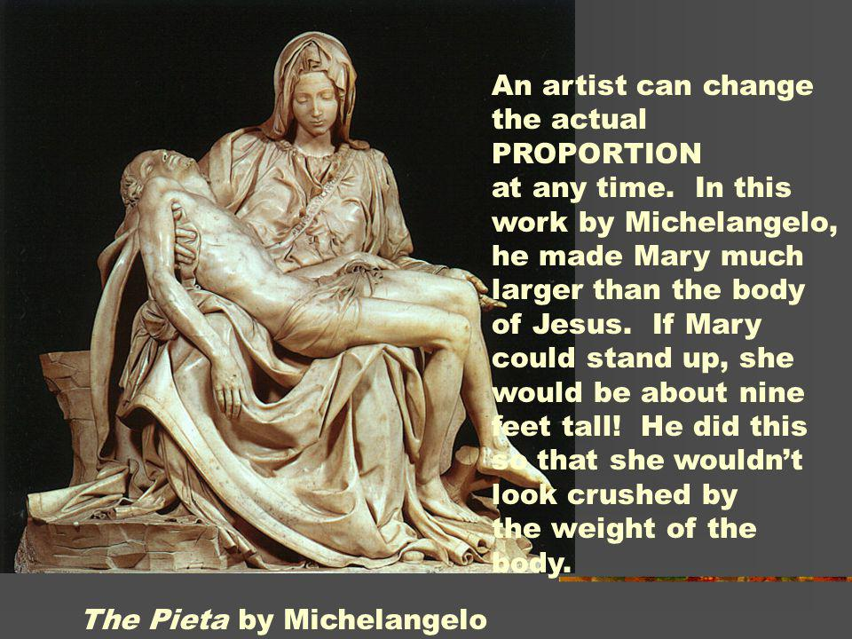 The Pieta by Michelangelo