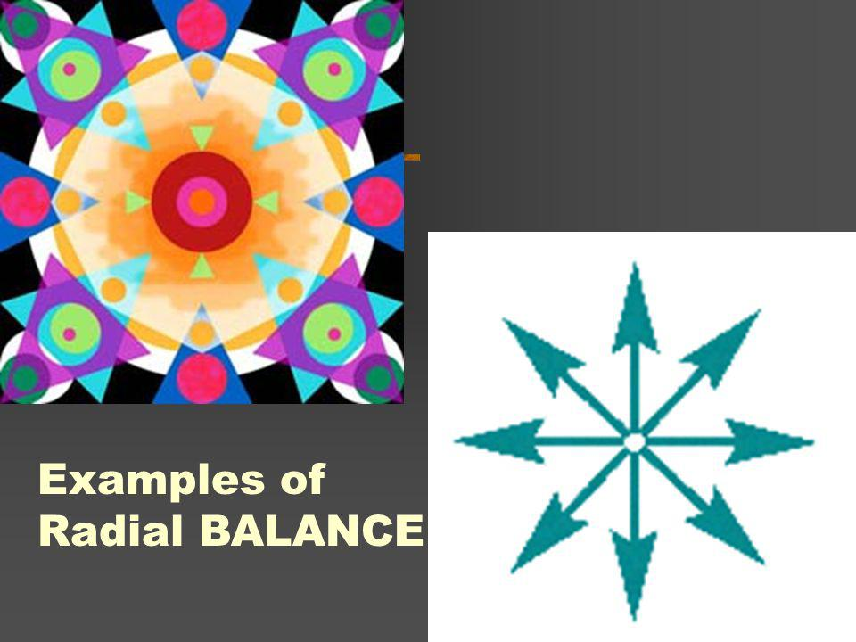 Examples of Radial BALANCE