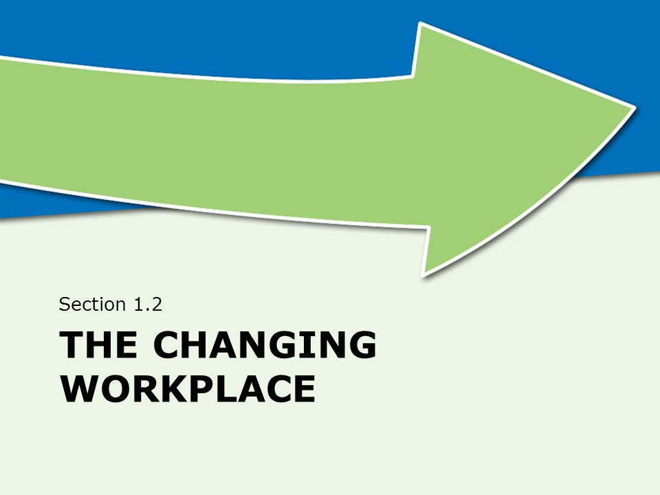 The Changing Workplace