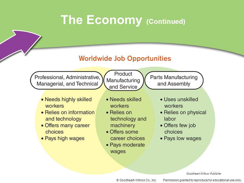 The Economy (Continued)