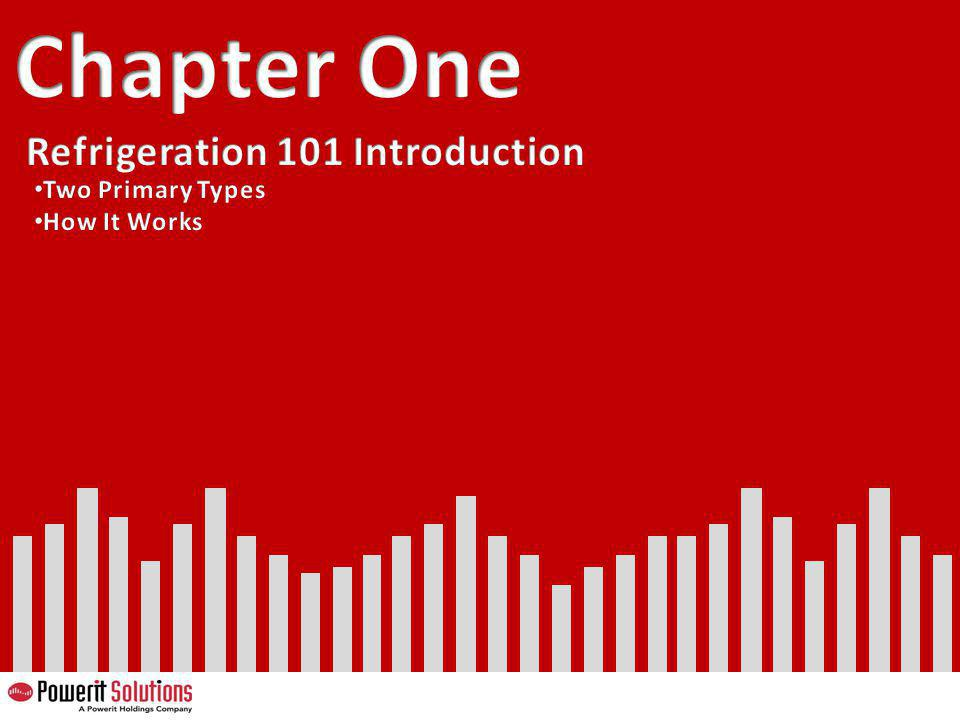 Chapter One Refrigeration 101 Introduction Two Primary Types