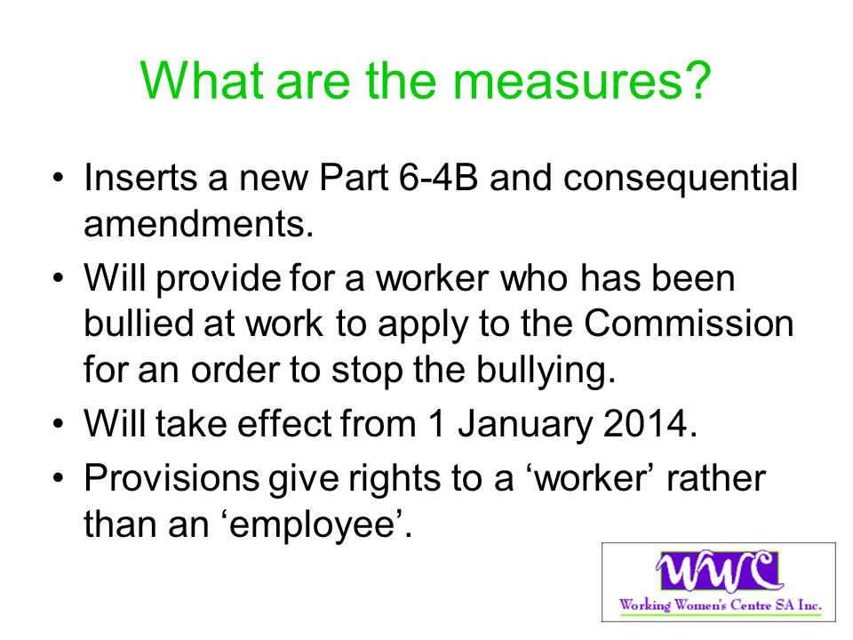 What are the measures Inserts a new Part 6-4B and consequential amendments.