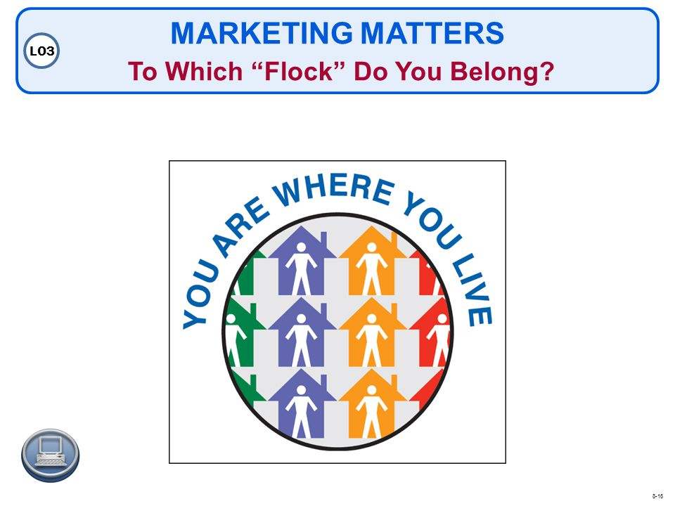 MARKETING MATTERS To Which Flock Do You Belong