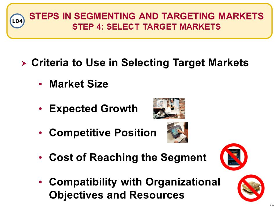 Criteria to Use in Selecting Target Markets
