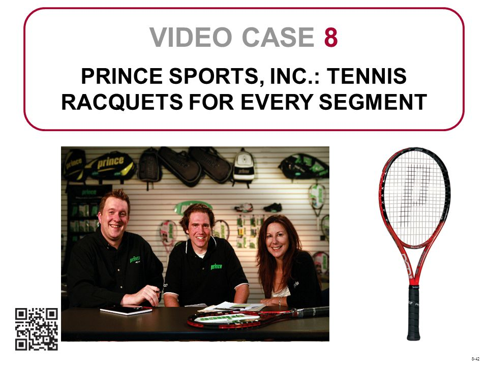 PRINCE SPORTS, INC.: TENNIS RACQUETS FOR EVERY SEGMENT