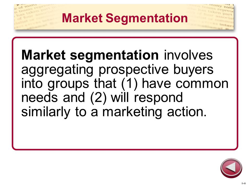 apple inc market segmentation Here we examine the decision of apple inc to enter the mobile handset business   identify a need (ie customer market segment) not met by prior platforms.