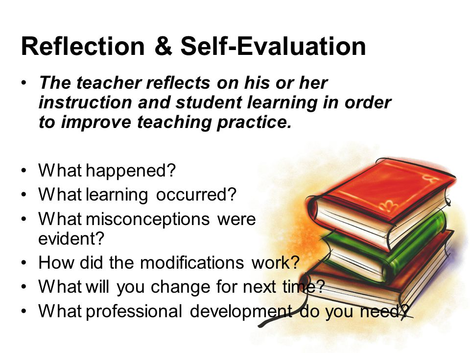 Reflection & Self-Evaluation