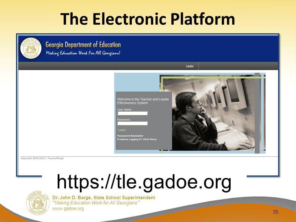The Electronic Platform