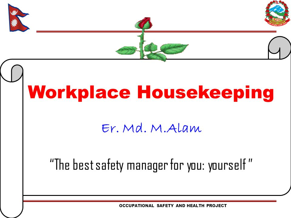 Workplace Housekeeping