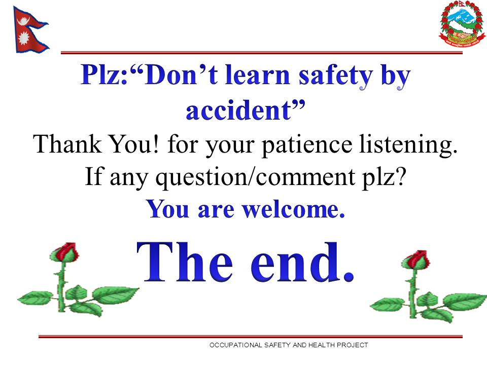 Plz: Don't learn safety by accident