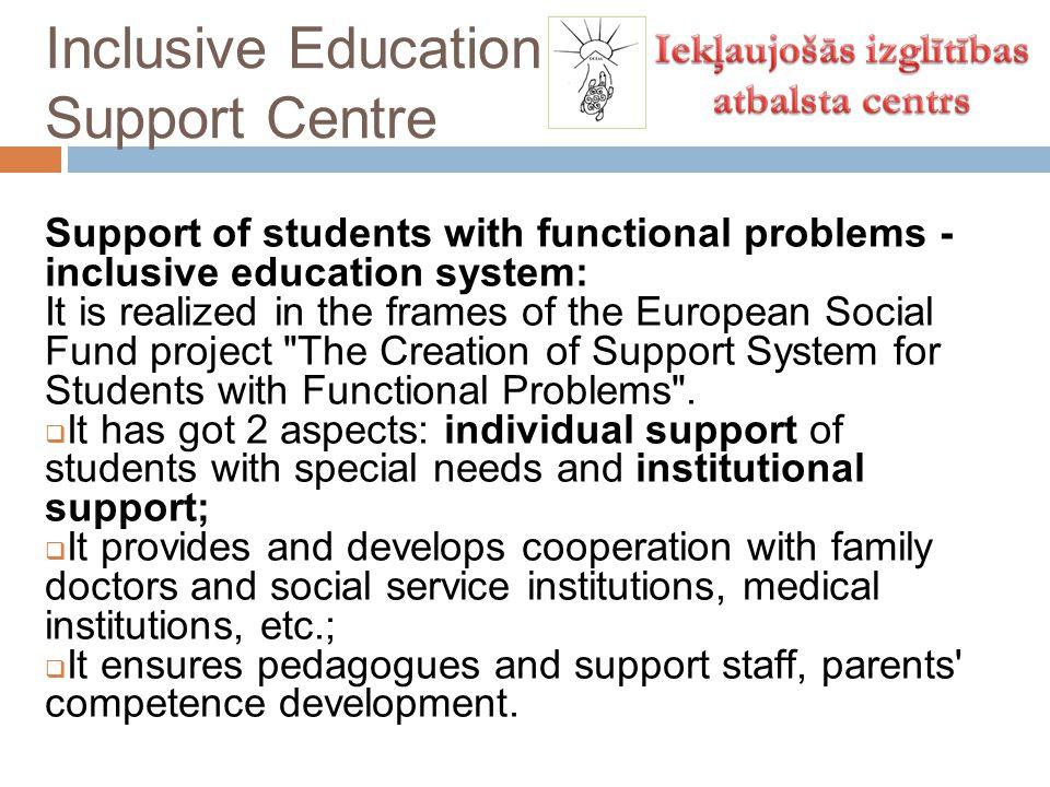 Inclusive Education Support Centre