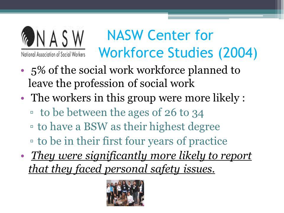 NASW Center for Workforce Studies (2004)