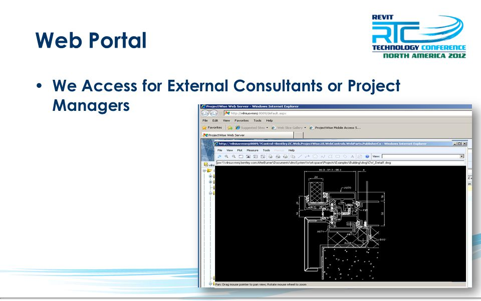 Web Portal We Access for External Consultants or Project Managers