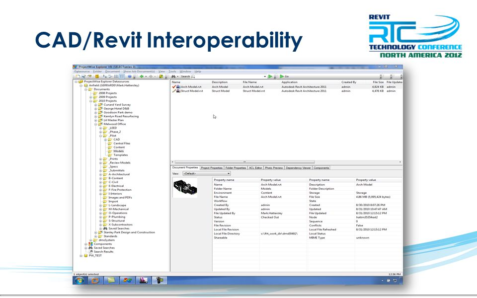 CAD/Revit Interoperability