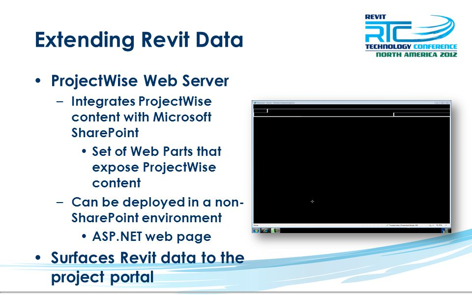 Extending Revit Data ProjectWise Web Server