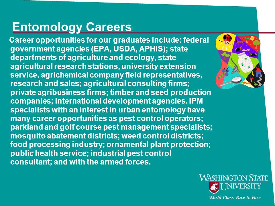 Entomology Careers