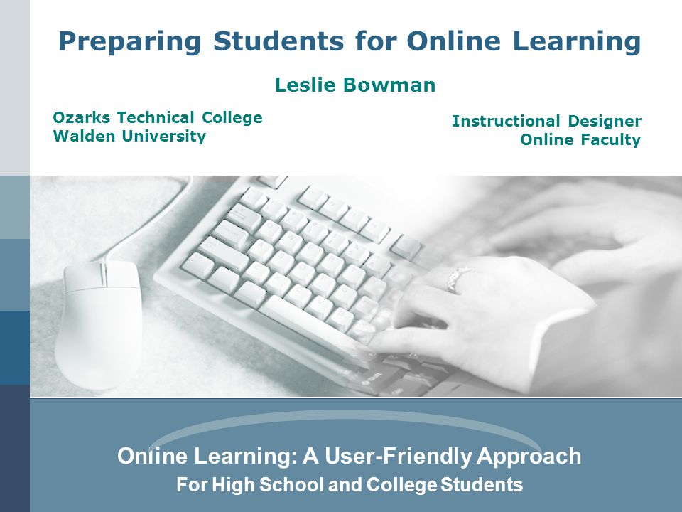 Preparing Students for Online Learning