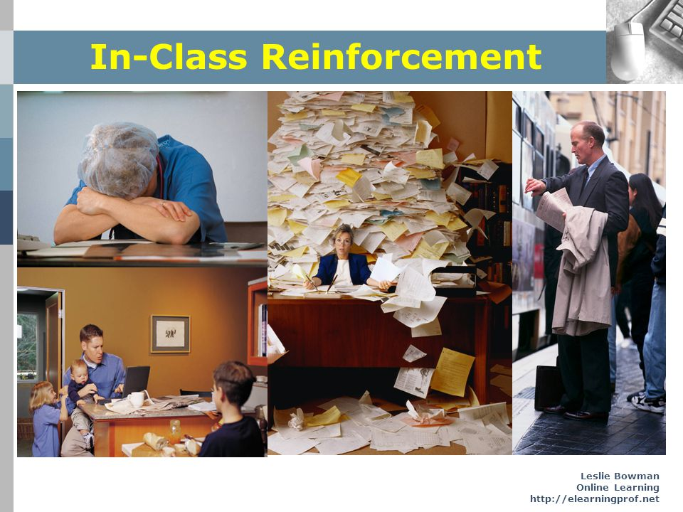 In-Class Reinforcement